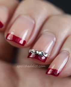 Image Result For Red Wedding Nail Designs Nail Art Wedding Simple Nail Art Designs Red Wedding Nails