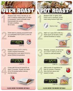 perfect tips for making roast beef  pot roasts