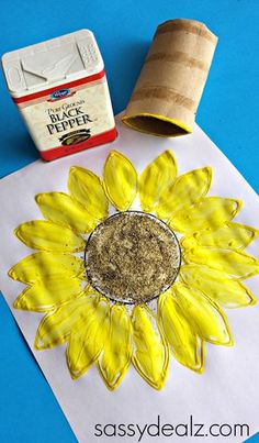 The best DIY projects & DIY ideas and tutorials: sewing, paper craft, DIY. Diy Crafts Ideas Sunflower Crafts for Kids to Make - Crafty Morning -Read Crafts For Kids To Make, Easy Crafts For Kids, Summer Crafts, Fall Crafts, Art For Kids, Arts And Crafts, Kids Diy, Sunflower Crafts, Sunflower Art