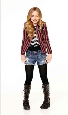 Jacket = No // Top = Yes // Jean Shorts = Yes // Tights with shorts = Yes // Boots = Yes //