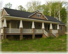Craftsman Porch Design