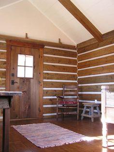 Dovetailed cabin interior