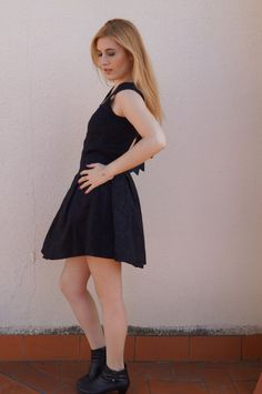 Stella Maris Fashion Blogger |  blogs.elle.es  Vestido: ARAMAT