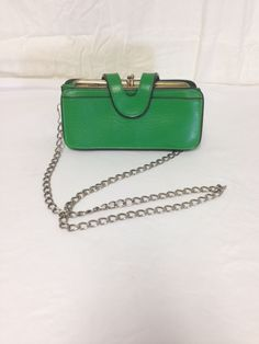 Get this now on sale! https://www.etsy.com/listing/203879549/free-ship-green-wallet-purse-shoulder?ref=shop_home_active_5
