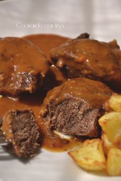50 Ideas Soup Recipes Steak Meat For 2019 Best Mexican Recipes, Favorite Recipes, Tapas, Meat Steak, Spanish Dishes, Kitchen Dishes, Sweet And Salty, Steak Recipes, Pot Roast