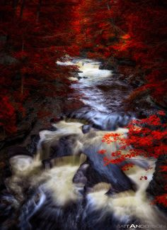 Pot Hole Rapids on the Ontonagon River, Porcupine Mountains State Park, Upper Michigan