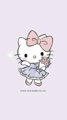 Super Ideas For Wall Paper Cartoon Android Hello Kitty Hello Kitty Iphone Wallpaper, Sanrio Wallpaper, Wallpaper Stickers, Hello Kitty Pictures, Kitty Images, Hello Kitty Drawing, Tumblr Flower, Hello Kitty Imagenes, Hello Kitty Tattoos