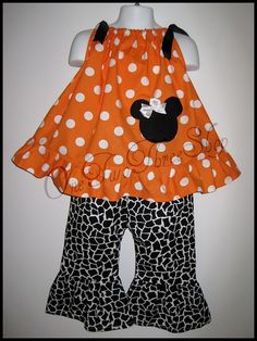 cute fall Minnie Mouse outfit