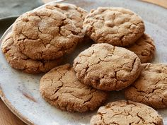 Ultimate Ginger Cookie recipe from Ina Garten via Food Network