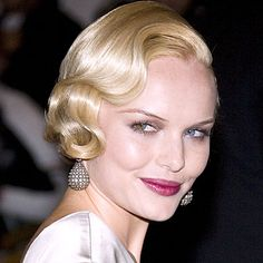 Kate Bosworth - vintage finger waves