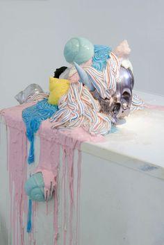 The Great Vastness / Vasilis Asimakopoulos Soft Sculpture, Abstract Sculpture, Painting Inspiration, Art Inspo, Street Art, Oeuvre D'art, Installation Art, Textiles, Art Lessons