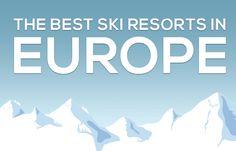 Best Ski Resorts in Europe — Terri's Little Haven  #travel #entertainment #vacationdestinations #skiresort  Best Ski Resorts in Europe