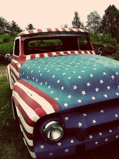 Independence Day Truck