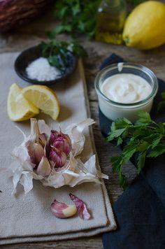 Dip de berenjenas asadas y yogur griego | Roasted aubergine dip with greek youghourt http://saboresymomentos.es