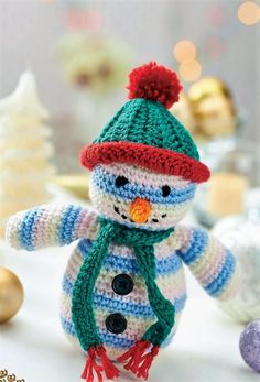 A great idea for the gift in winter season is crochet snowman toy pattern which is stuffed with the soft material, not a single pattern is difficult to make and when the assistance is available through the link here; then there is nothing to worry about for crocheting this innovative idea.