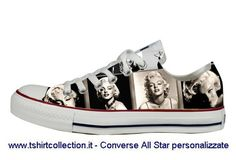 marilyn monroe shoes   ... Hosting - Image : scarpe-personalizzate-marilyn-monroe-converse-al.jpg