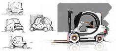 Toyota Tomas J. Designer's sketch.