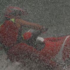 Jet skier at Sea World