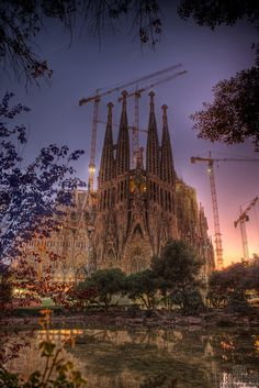 Sagrada Família, is a massive, privately-funded Roman Catholic church that has been under construction in Barcelona, Catalonia, Spain since 1882 and is not expected to be complete until at least 2026. .Considered the master-work of renowned Spanish architect Antoni Gaudí (1852-1926), the project's vast scale and idiosyncratic design have made it one of Barcelona's (and Spain's) top tourist attractions for many years. The church is to be consecrated by Pope Benedict XVI on November 7, 2010…