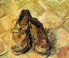 Vincent Van Gogh A Pair Of Shoes oil painting reproductions for sale