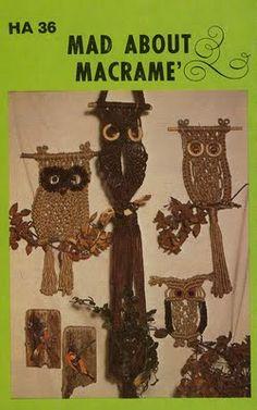 owl macrame