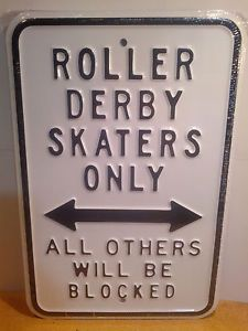 Actually it's a lie. All skaters will be blocked, it's a #rollerderby pinky promise.