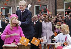 Pieter en Máxima op Koninginnedag in Franeker – 2008