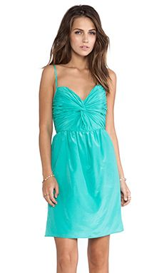 Shoshanna Carine Dress in Aqua | REVOLVE
