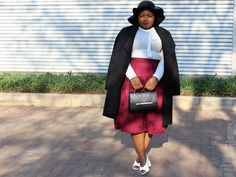 Burgundy and Black outfit for fall or autumn Next Skirts, Burgundy Skirt, Asos Skirts, Topshop Shoes, Fall Wardrobe, Skirt Outfits, African Fashion, Red Wine, Personal Style