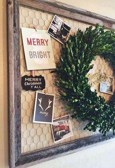 Incredible Rustic Farmhouse Christmas Decoration Ideas 26