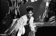 Prince performs on stage on the Diamonds Pearls tour Ahoy Rotterdam Netherlands 27th May 1992