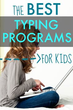 Teaching your kids to type is an important skill. Here are free typing programs for kids and fun typing games! #typingforkids #typinggames #homeschool #learning