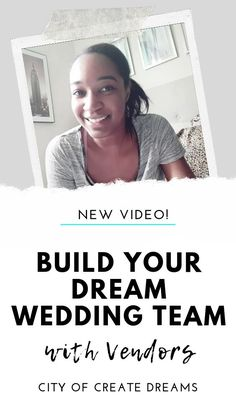 Build Your Dream Wedding Team with Vendors Build Your Dream Wedding Team with Vendors wedding planning guide, wedding planning on a budget, we Wedding Planning On A Budget, Plan Your Wedding, Budget Wedding, Wedding Videos, Wedding Blog, Dream Wedding, Youtube Wedding, Wedding Rituals, Alternative Wedding