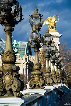 View on the Grand Palais from the Alexandre III bridge, Paris VIII