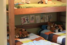 How to fit 3 kids in one room, comfortably - and cute, I might add!