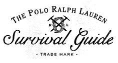 The Polo Ralph Lauren Survival Guide by Joshua Noom, via Behance