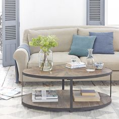 Oval+Coffee+Table+ +Sunshine+ +Loaf