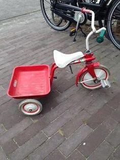 ≥ Vintage Driewieler met laadbak smoby kettler puky - Speelgoed | Buiten | Voertuigen en Loopfietsen - Marktplaats.nl