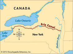 Map/Still:Erie Canal