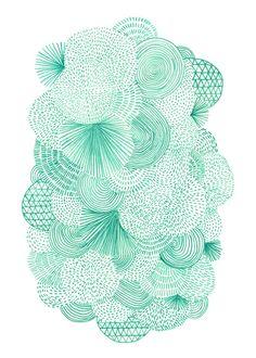 Green Fields Framed Art Print by Marcelo Romero | Society6
