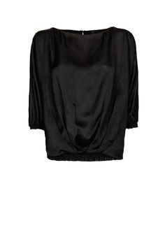 MANGO - Satin blouse