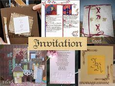 Décoration mariage idées thème médieval faire part