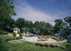 Landscaping Around The Pool With Boulder Design Ideas, Pictures, Remodel, and Decor - page 45