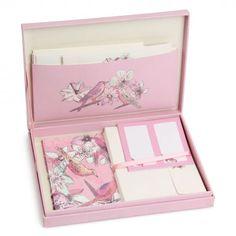 Love birds boxed writing set - so pretty
