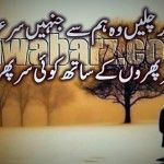 Hum sar phiroun ke saath koi sar phira chale Urdu Shayari