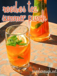 Learn Something New Everyday Summer Punch, Learn Something New Everyday, Herbal Tea, Tea Recipes, Coffee Time, Herbalism, Food And Drink, Spa