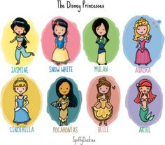 Disney Princesses Of Middle School. hehe.