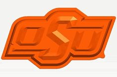 NCAA Oklahoma State OSU Cowboys O Logo Cake Pan & Dessert Mold for your Gameday and Tailgate Party from Fanpan