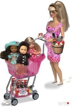 White Trash Barbie, NICE!!!