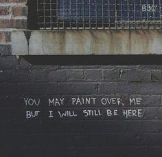 I will still be here